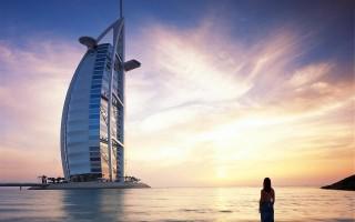 Burj Al-Arab luxury hotel