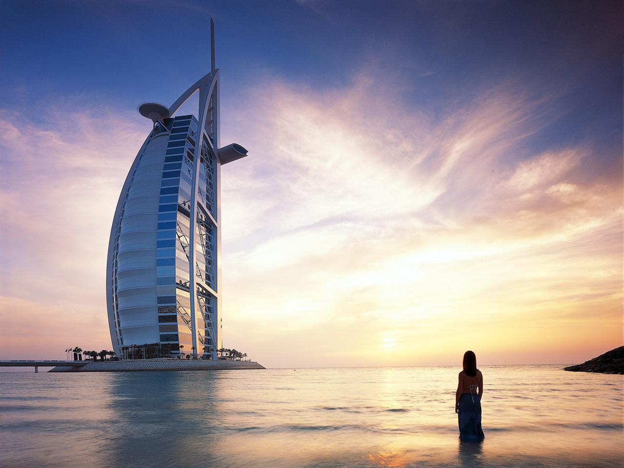 Burj Al-Arab luxury hotel