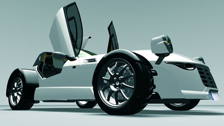 aspid roadster sport car