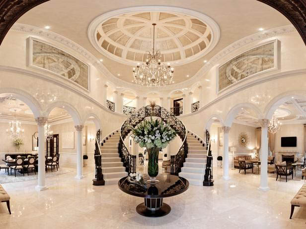 Double Staircase luxury home