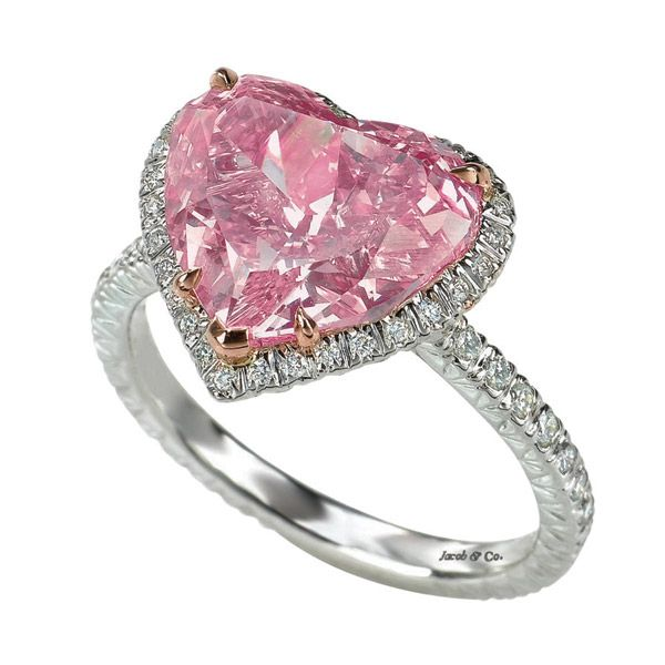 pink- diamond engagement rings