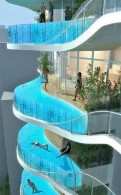 swimming pool in every floor
