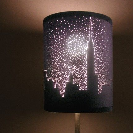 black lamp shades